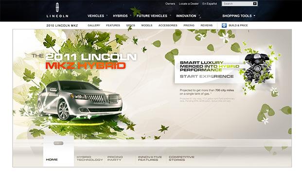 Lincoln — 2011 MKZ Hybrid