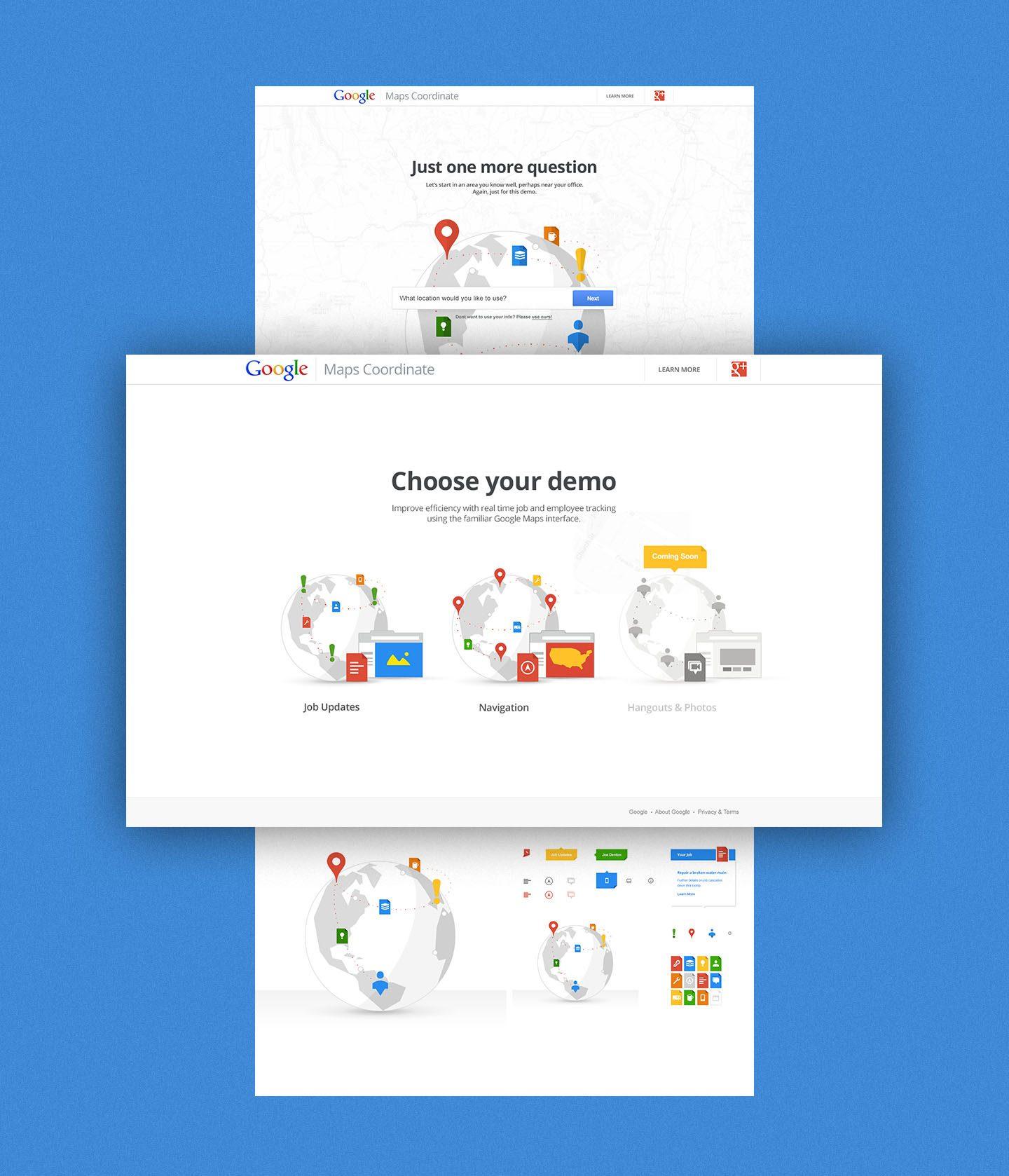 Google — Maps Coordinate
