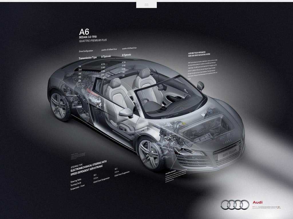 Audi — A6 iPad