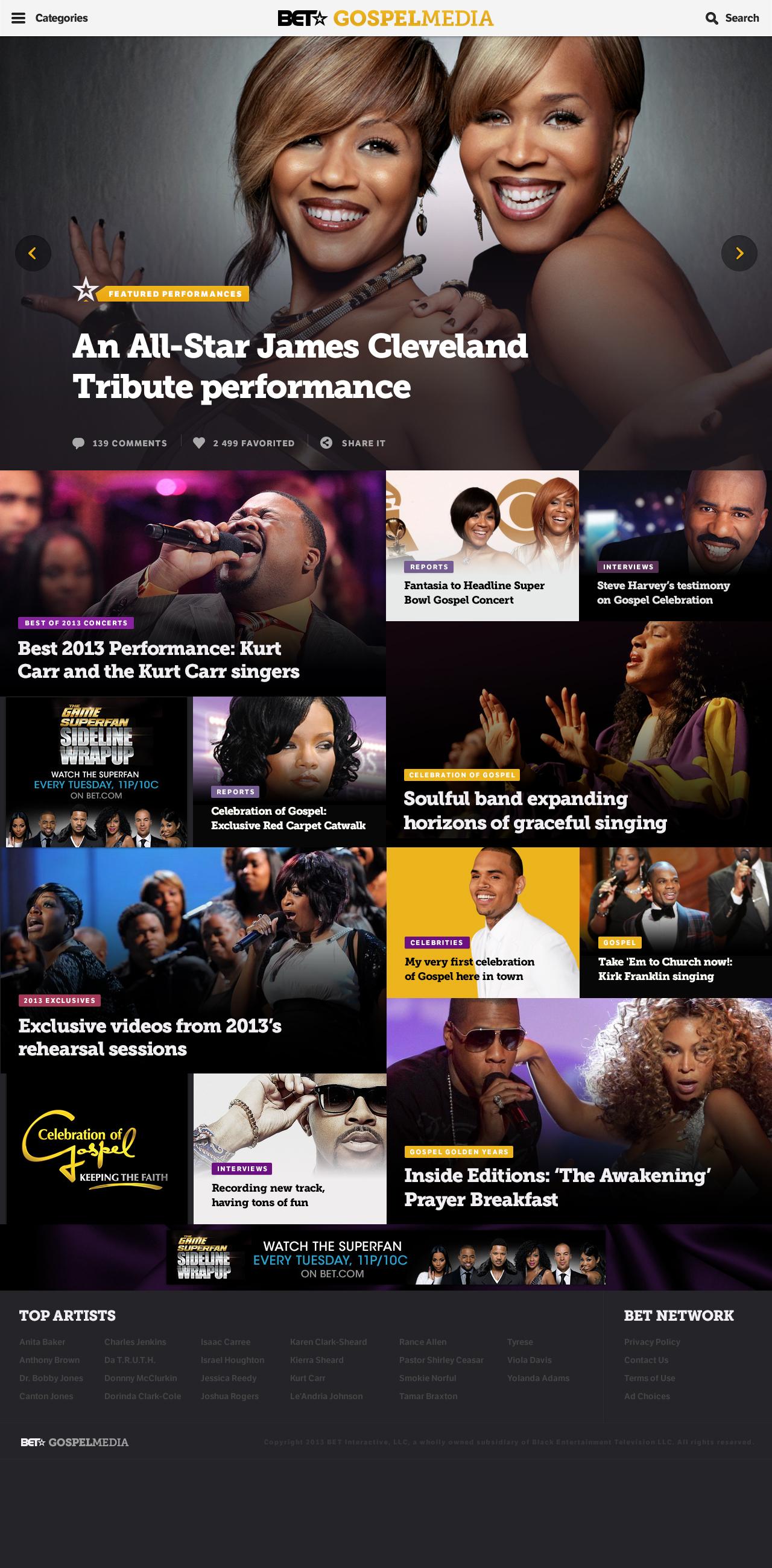 BET — The Gospel video source