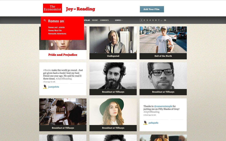 The Economist India — The Joy of Reading