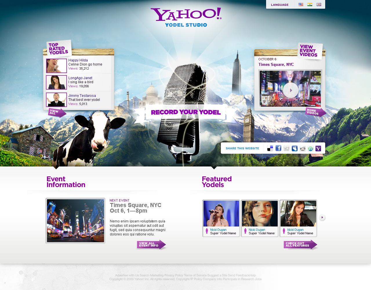 Yahoo — Yodel