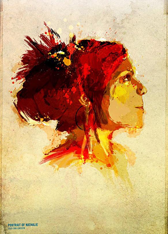 Nathalie — Portrait