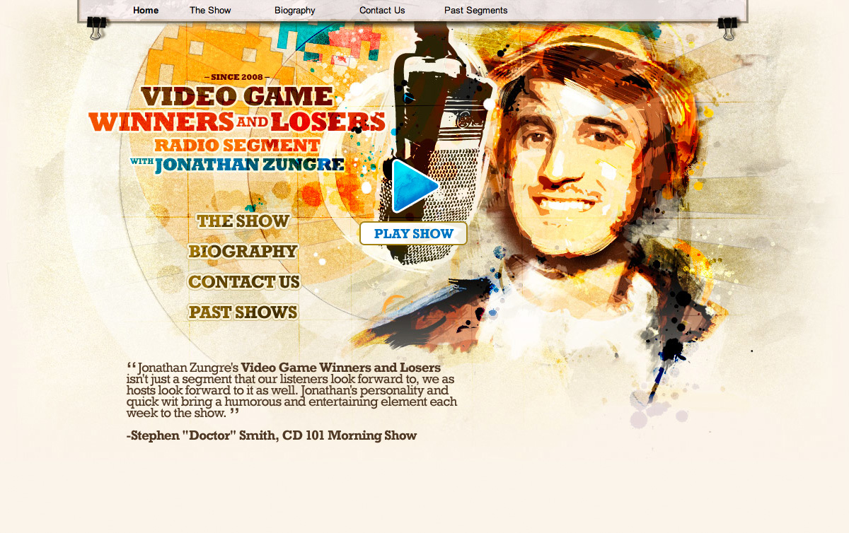 Jonathan Zungre — Video games winners and losers